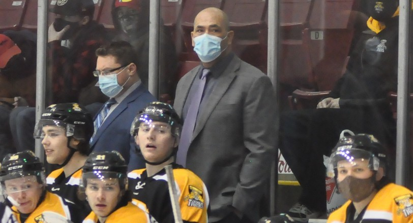 Campbellton Junior A Tigers head coach Sandy McCarthy has stepped down for the upcoming season for health reasons.