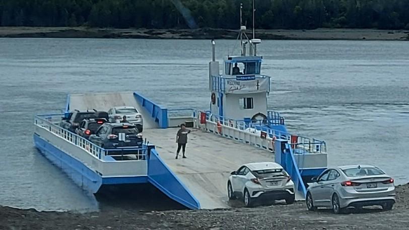 Campobello Island's ferry, operated by East Coast Ferries Ltd.