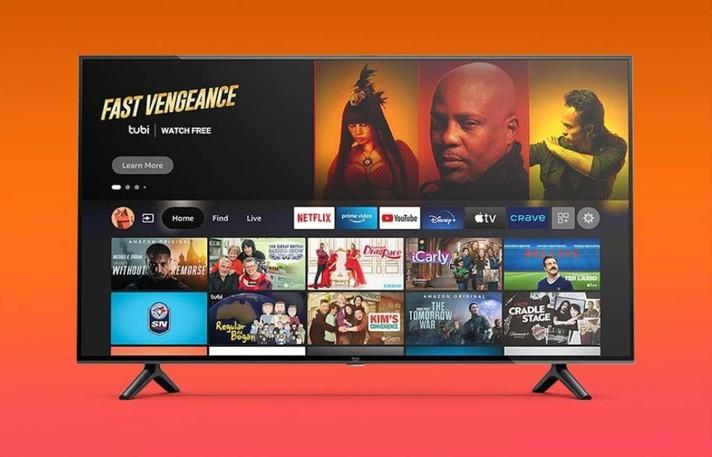 Amazon Fire TV 4-Series.
