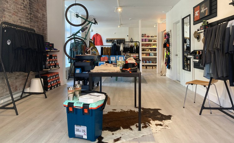 Inside Tommy's Superette, an outdoor apparel and accessories shop, that opened last weekend on Princess Street in Saint John.
