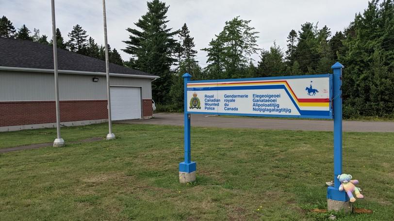The Elsipogtog detachment of the Southeast District RCMP.