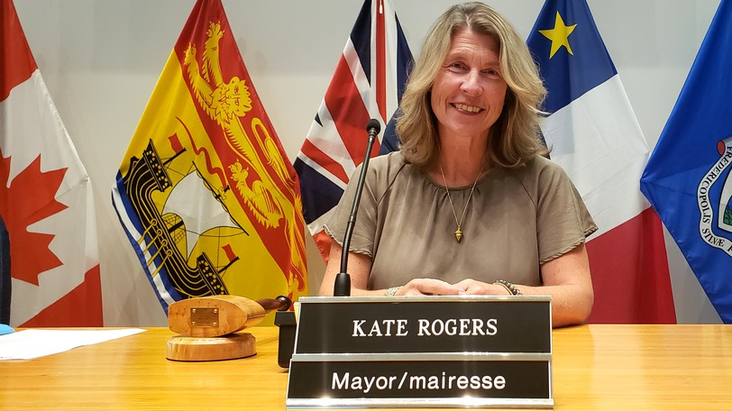 Fredericton Mayor Kate Rogers lays out the city's priorities ahead of next week's federal election.