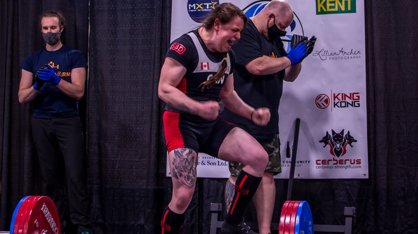 Waweig's Danielle Philibert is heading to the World Powerlifting Championships in Sweden.