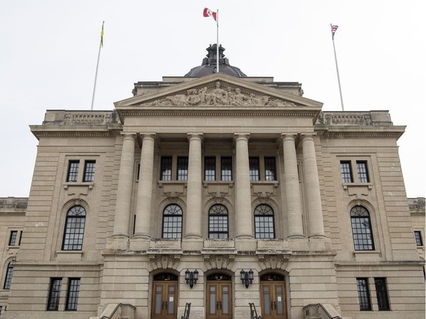 The Saskatchewan Legislative Building
