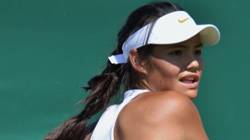 Emma Raducanu won the U.S. Open women's tennis title on Saturday.