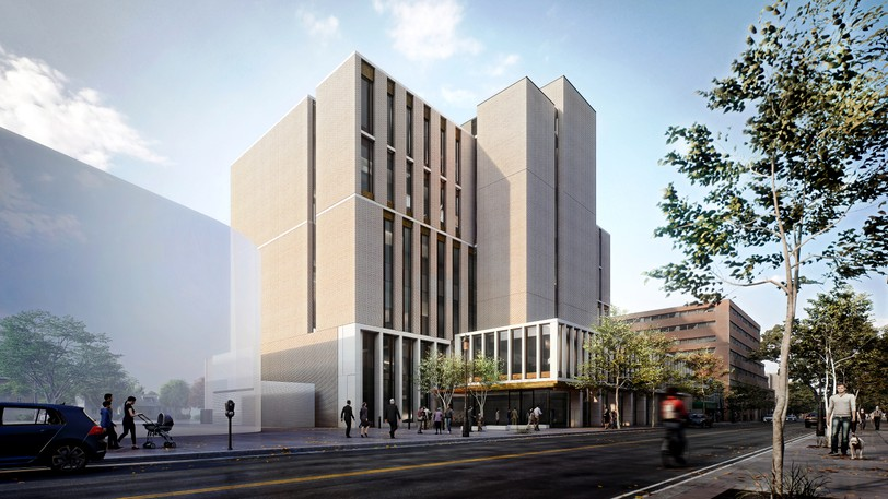 Images of Fredericton's new $60-million provincial courthouse design were unveiled Tuesday.