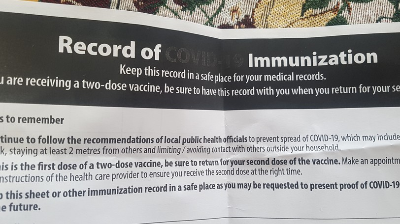 There were four new cases of COVID-19 announced for Zone 6, the Chaleur region, on Wednesday, bringing the total number of active cases in the zone to 10. In addition, as of 11:59 p.m. next Tuesday night, proof of immunization will be required to enter certain businesses and take part in certain gatherings in New Brunswick.