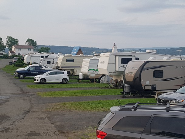 Inch Arran campground in Dalhousie had an exceptional summer, town council was told on Sept. 13.