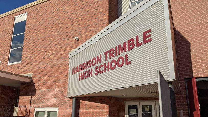 There was at least one confirmed case of COVID-19 at Harrison Trimble High School on Wednesday.