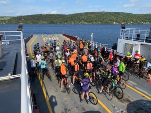 The 2021 Kingston Kruze hosted 70 cyclists and raised $10,000.