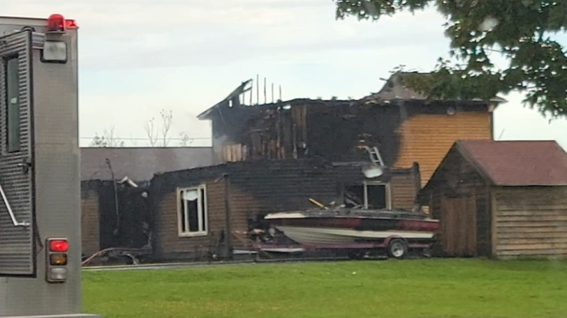 The provincial fire marshal's office is investigating the cause of an early-morning fire that caused extensive damage to a house on Route 133 east of Shediac Thursday.