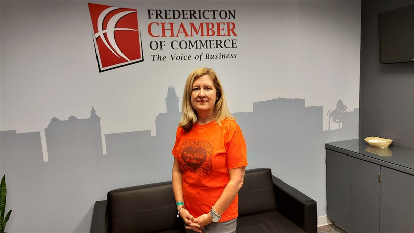 """Krista Ross, CEO of the Fredericton Chamber of Commerce, says """"businesses are looking for some guidance on activities they can dothat will honour the day forTruth and Reconciliation"""" after the provincial government chose not to declare Sept. 30 a public holiday."""