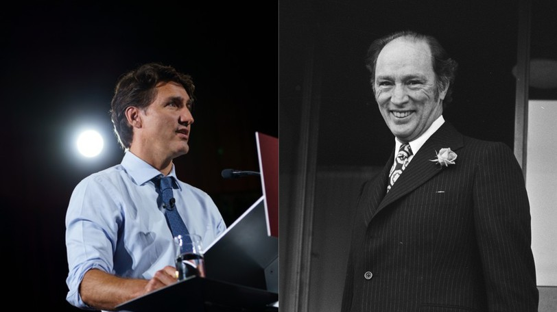 Justin Trudeau's third campaign as Liberal leader bears more than a passing resemblance to his father's third campaign as leader in the 1974 election.