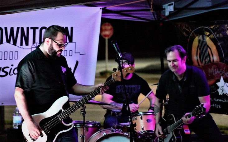 Six Gun Smoke performs at the 2019 Downtown Arts and Music Festival in Newcastle. This year's festival goes Sept. 23 and 24 at five different venues.