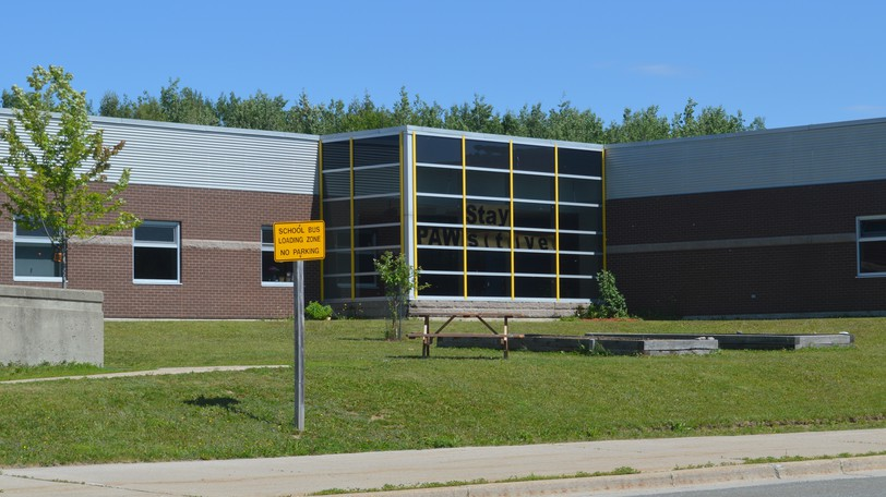 A case of COVID-19 has been confirmed at Perth-Andover Middle School, seen in this photo, and at Southern Victoria High School along with an additional case at Andover Elementary School. Two cases were confirmed at the elementary school on Monday. All three schools have moved to distance learning until Monday, Sept. 20.