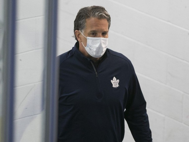 Maple Leafs president Brendan Shanahan knows the pressure will be on this season.