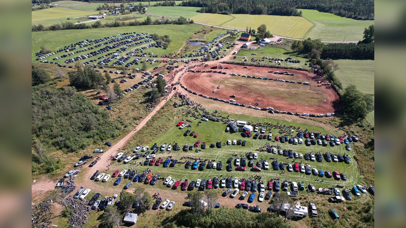 Crowds numbered above 3,000 people on Saturday, Sept. 11 for what was the final demolition derby to be held at the Redneck Raceway in Norton. Organizer Stephen Muir said the family has decided to retire from running the track, and it will soon be put up for sale.