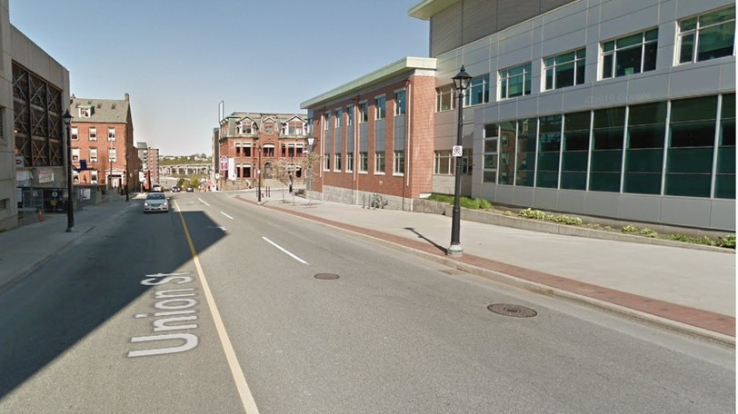 Union Street between Germain and Chipman Hill will be closed to traffic in both directions on Sunday.