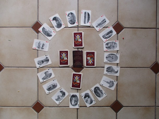 Elizabeth Toy's Souvenir Playing Cards of the Maritime Provinces.