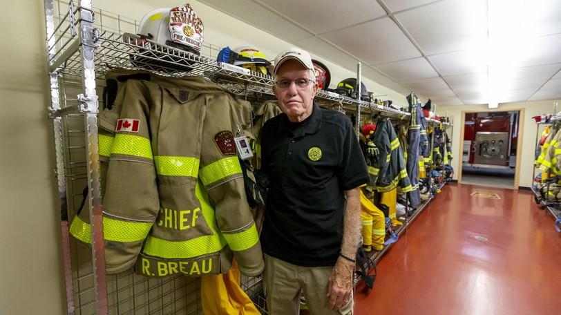 After 35 years serving his community, Hampton Fire-Rescue Chief Roger Breau is retiring at the end of the month. He said he will miss pretty well everything about the job, especially the people.