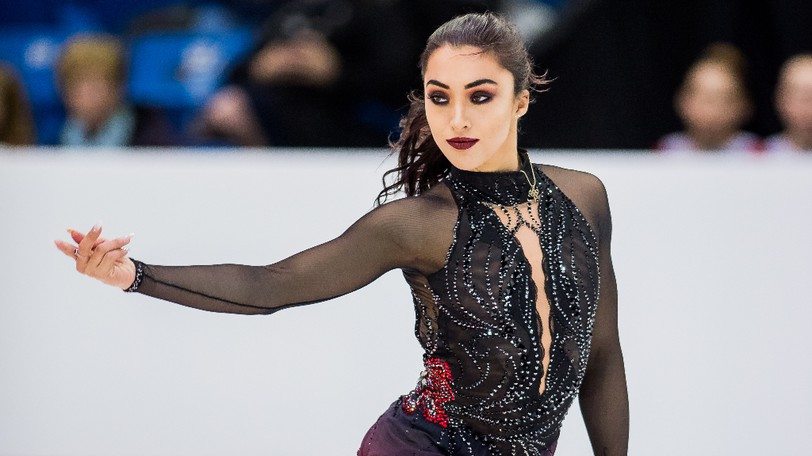 Gabrielle Daleman at the 2019 Canadian Tire National Skating Championships.