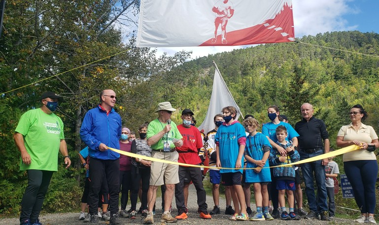The annual Terry Fox Walk was held at Sugarloaf Park Sunday afternoon.