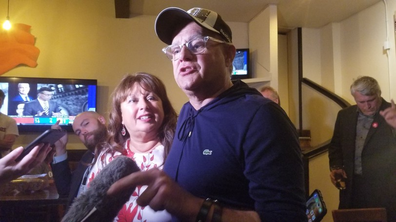 Wayne Long said his re-election in Saint John-Rothesay drives a flag into the ground that riding has changed, and is one for progressives.