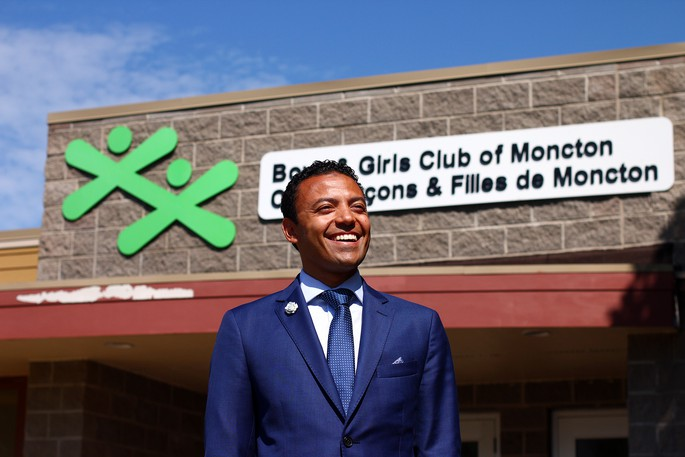 Moncef Lakouas, Executive Director BGC Moncton, previously known as the Boys and Girls Club of Moncton.
