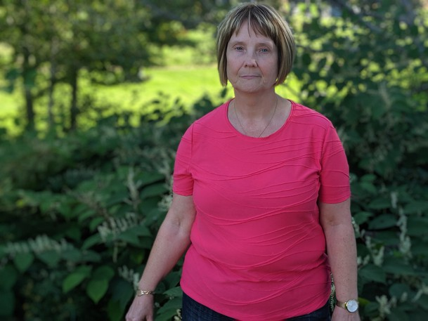Kathy Andrews, a Sackville resident, said she has been unsuccessfully struggling to get rid of a species of plant on her property for years, not knowing what it was. Andrews learned it was Japanese knotweed after seeing a post from Coun. Andrew Black who is looking to find out where the invasive plant is growing in the town.