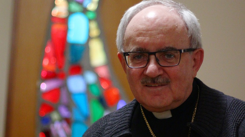 Archbishop Valéry Vienneau of the Archdiocese of Moncton is pictured in this file photo.