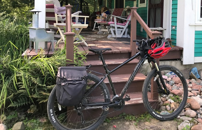 Traveller, Lane MacIntosh's mountain bike, had gotten him through the pandemic and all the existential angst that came with it. She was his lifeline. But, in a heartbeat, there she was, gone.