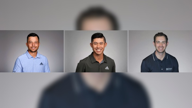 Xander Schauffele, left, Collin Morikawa, centre, and Patrick Cantlay are three of the 12 players on the American Ryder Cup team.