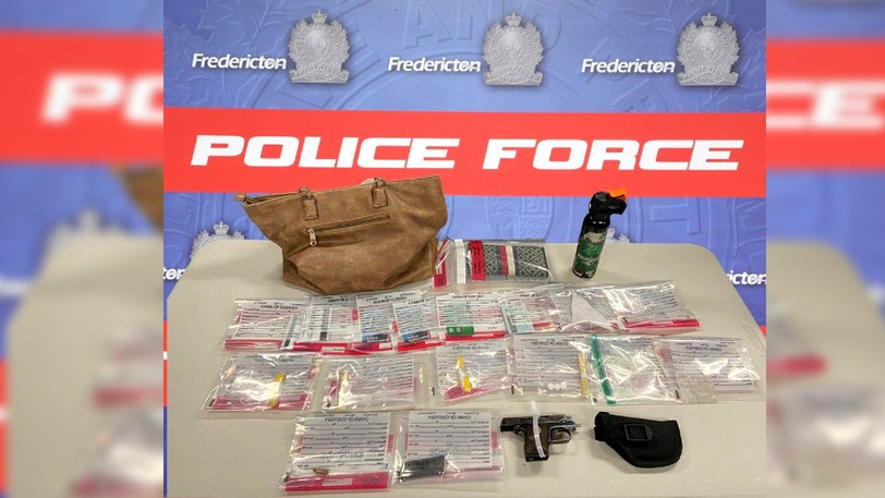 An 18-year-old Fredericton woman faces several charges, including ramming a police car, injuring a police officer, and possessing aloaded firearm and illegal drugs, according to the Fredericton Police Force.
