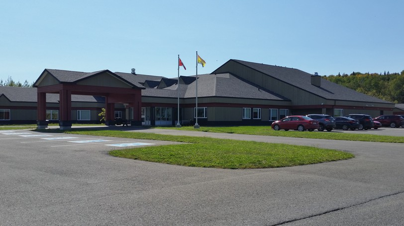 The Victoria Glen Manor nursing home in Perth-Andover, seen in this file photo, and the community of Neqotkuk, Tobique First Nation, are among 15 locations in the province where a COVID-19 provincial rapid outbreak management team has been activated.