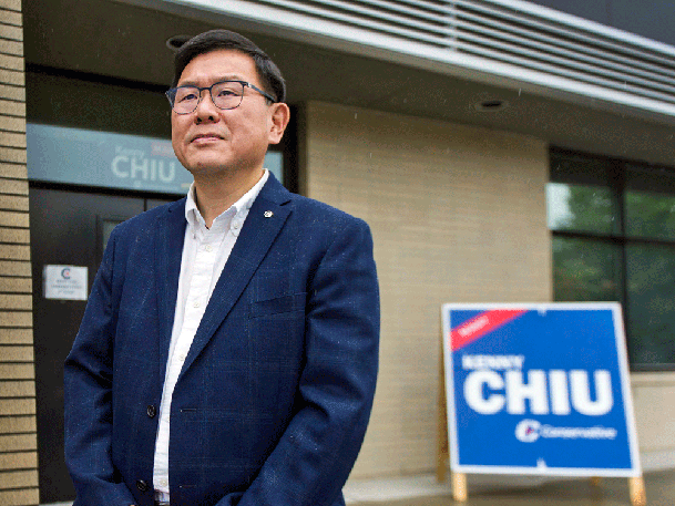 Due to a private members bill critical of China that Conservative Kenny Chiu introduced last April, he says he was hounded by supporters of the Chinese Communist Party during the federal election.
