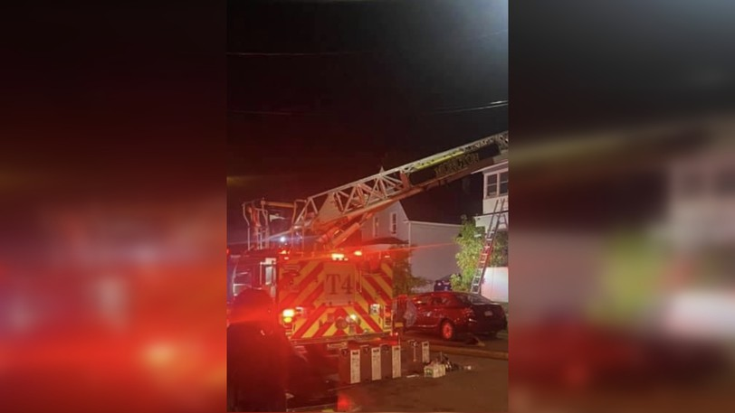 A fire damaged a women's shelter in Moncton on Wednesday leaving four women without a place to stay.