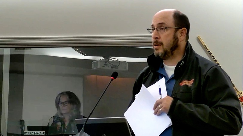 Mark Losier of the Grovehill Community Group made a presentation to Bathurst city council Sept. 20 requesting a piece of land for a community park in the subdivision.
