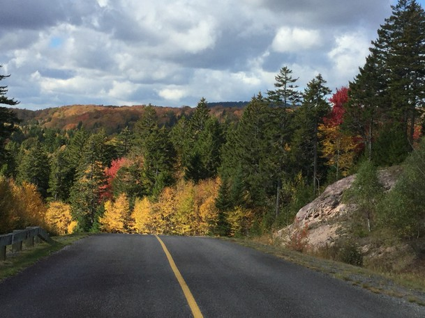 The Fundy Trail Parkway.