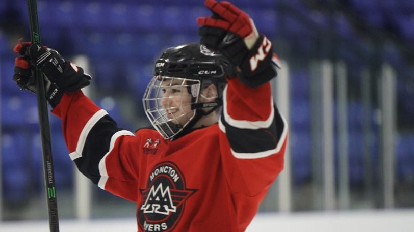 Defenceman Jack Martin and the Moncton Flyers open the New Brunswick/P.E.I. Major Under-18 Hockey League season on Friday.