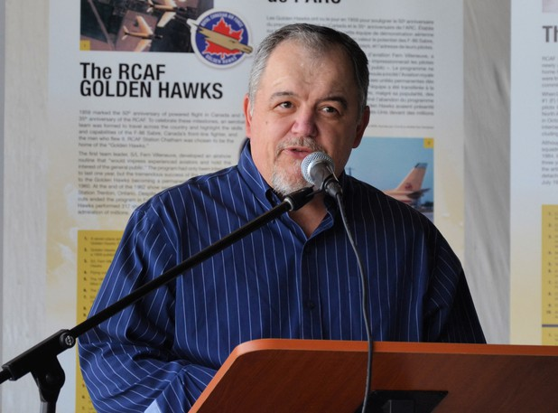 """Kevin Anderson, New Brunswick Aviation Museum founder and executive director, says the feasibility study and business case report are """"critical"""" for the facility to proceed."""