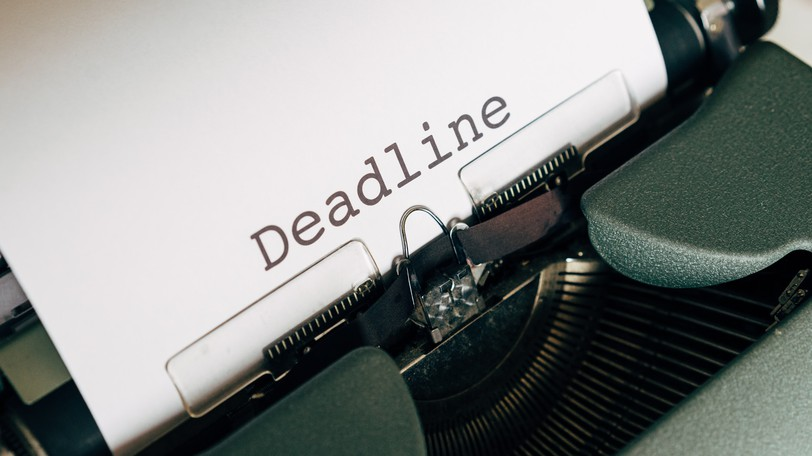 Harold Taylor writes about the evolution of the word deadline and its importance in the world of business.