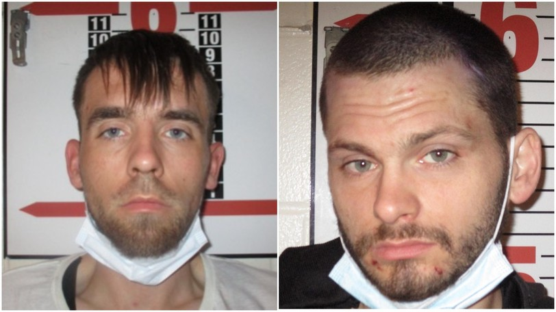 The Halifax Regional Police are seeking Chad Stephen Clarke, left and Thomas Joseph Smith. Both men escaped from the Central Nova Scotia Correctional Facility in Dartmouth on Thursday.