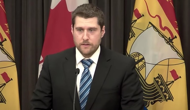 Mathieu Chalifoux, New Brunswick Public Health's lead COVID-19 epidemiologist.
