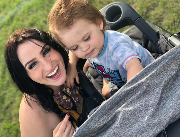 Danielle Doyle, left, said she is questioning the wait times in New Brunswick's emergency departments after her one-year-old son Liam who waited almost an hour to be triaged in The Moncton Hospital while he was in respiratory distress.