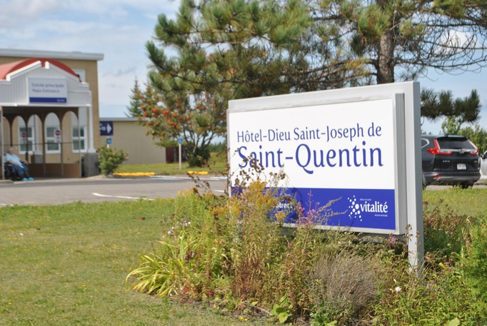 As of Monday morning, 64 per cent of staff at the Hôtel-Dieu Saint-Joseph Hospital in Saint-Quentinhave been vaccinated against the coronavirus.