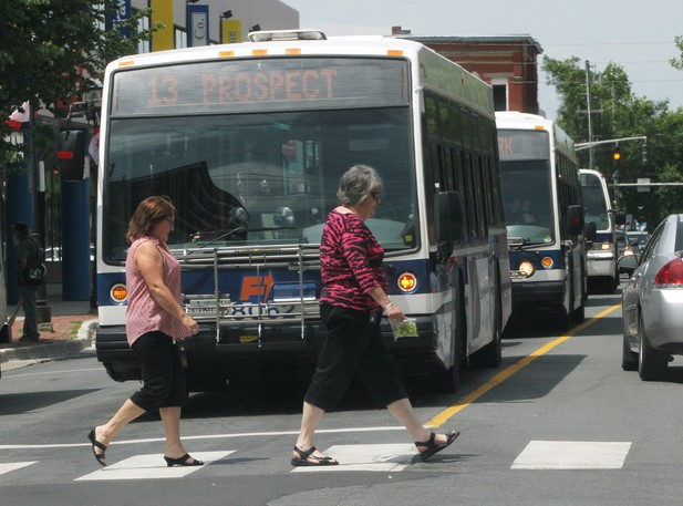 All 28 of Fredericton's regular buses, and three para-transit buses are getting new video cameras,automated passenger-counting technology, and the city is getting more accessible bus stops in a new million-dollar project that includes a new bus.