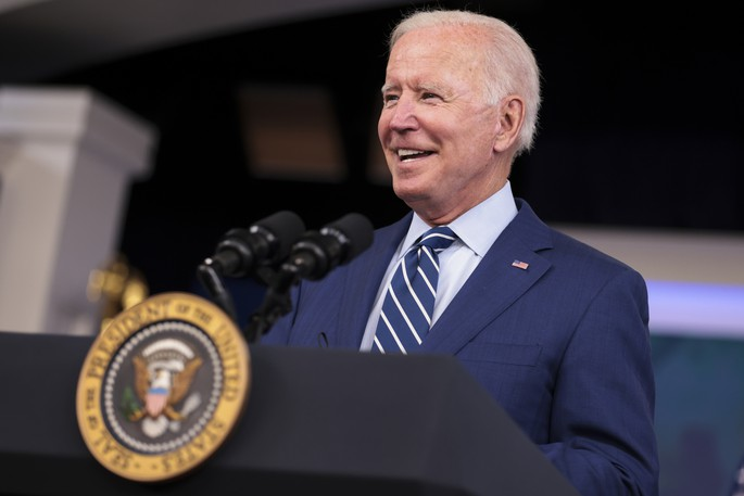 President Joe Biden is pictured in this file photo. The continued closure of the U.S. land border flies in the face of science and logic, writes our editorial board.