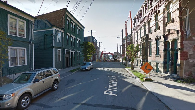 A section of Princess Street will be closed to thru traffic on Wednesday.