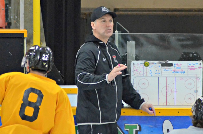 Rob MacDonald, Miramichi Timberwolves head coach and general manager, says his goal will be for the team to find ways to get better as it enters the 2021-22 Maritime Junior Hockey League season.