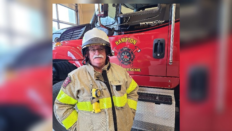 Hampton Fire Chief Mike Raeburn says he eager for the construction of a new fire training facility to get approved.